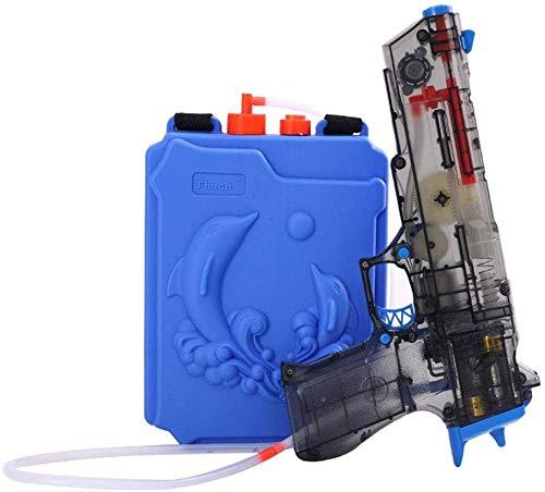 PRWJH Pistola de Agua eléctrica para niños Pistola de Agua de Juguete Pistola de Agua de Alta presión Totalmente automática Fina Mano de Obra de Largo Alcance.