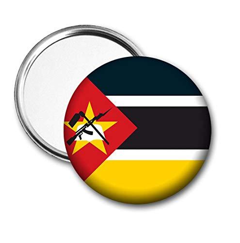 Mozambique Vlag Pocket Spiegel voor Handtas - Handtas - Cadeau - Verjaardag - Kerstmis - Stocking Filler - Secret Santa