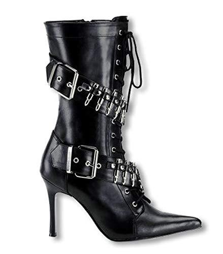 Horror Shop Patronengurt High Heel Boots UK 7 US 9: Amazon