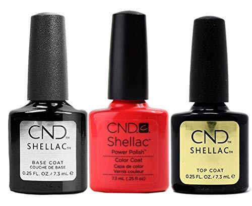 CND Original CND Shellac Tropix plus Base Coat plus Top Coat 7.3 ml, 1er Pack (1 x 22 ml)