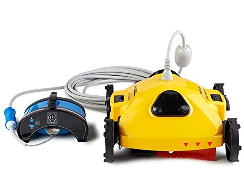 Why Choose AHELT-J Robotic Pool Cleaner for Above-Ground and Small In-Ground Pools,C