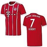 adidas Bayern Trikot Home Kinder 2018 - Ribery 7, Größe:176