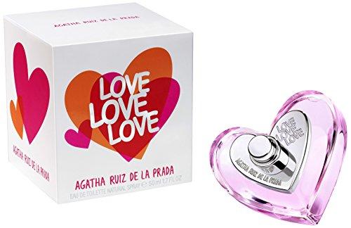 Agatha Ruiz de la Prada Love Love Love - Agua de toilette, 50 ml