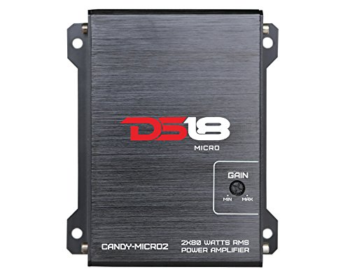 DS18 CANDY-MICRO2 - Amplifier in Black - Class D, 2...