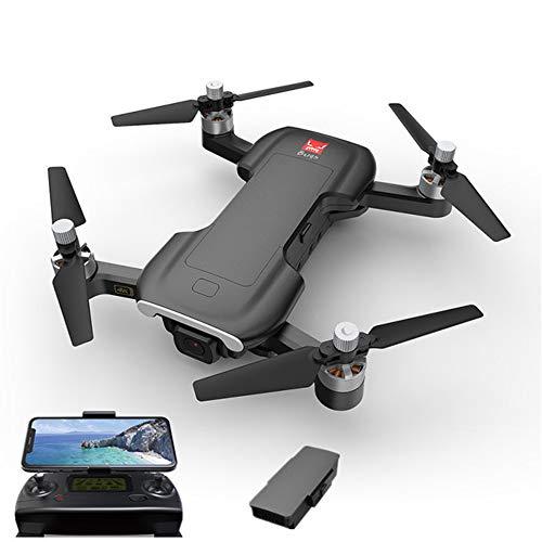 Ultrasone WiFi FPV GPS Borstelloze camera Drone 5G 4K GPS Opvouwbaar Volg mij Optische stroompositionering Luchtcamera, Zeer geschikt als cadeau voor uw kind,Black,1battery