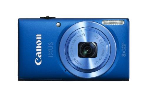 Canon IXUS 132 Digitalkamera (16 MP, 8-Fach Opt. Zoom, 6,9cm (2,7 Zoll) Display, bildstabilisiert) blau