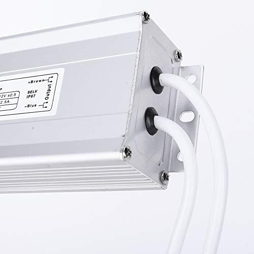 Weikeya Impermeable DIRIGIÓ Energía Suministro, Luz Voltaje Producción 12v12.5A Hecho de Metal 240VAC