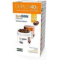 SunISDIN Cápsulas Orales, DUPLO 60 Unidades, Vitamina D, Complemento Alimenticio que Contribuye a Preparar la Piel para la Exposición Solar