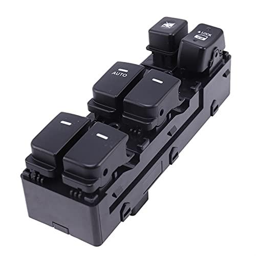 AONY Interruptores De Botón para KIA para Cerato para Forte (Koup) 2010-2013 Interruptor De Ventana De Energía Eléctrica Izquierda 93570-1M110WK (Color : Black)