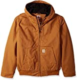 Carhartt Men's Full Swing Armstrong Active Jac (Regular and Big & Tall Sizes), Brown, Large