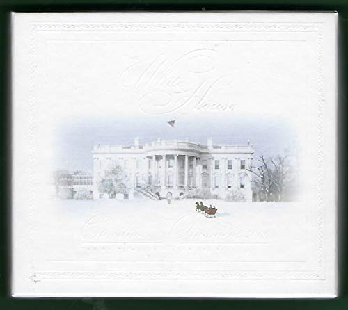 2006 White House Christmas Ornament, Tiffany Glass in the White House