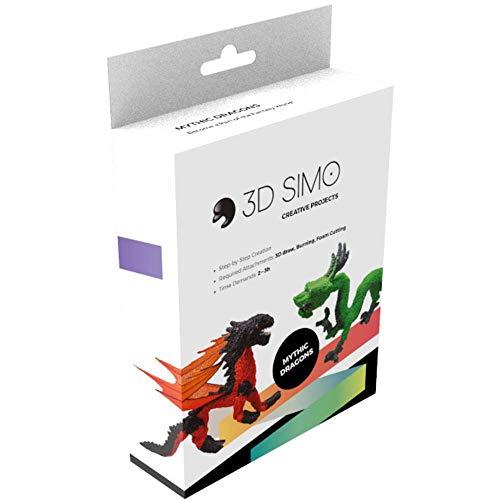 3Dsimo Dragon Creative Box - Drache