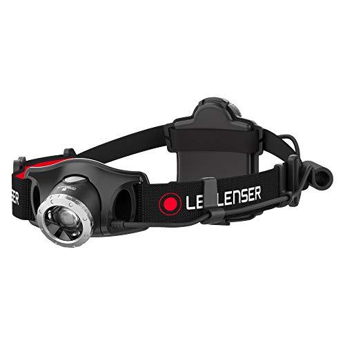 Ledlenser H7.2 LED Stirnlampe, sehr helle 250 Lumen, 30 Stunden Laufzeit, batteriebetrieben, fokussierbar, schwarz, inkl. Batterien