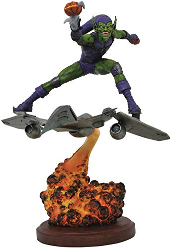 DIAMOND SELECT TOYS Marvel Premier Green Goblin Resin Statue, Multicolor