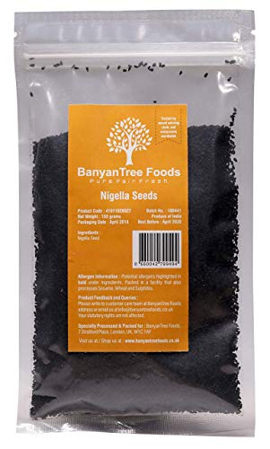 BanyanTree Foods Graine de Nigelle - Graine Noire / Kalonji 150g