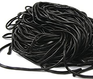 Black Laces 2 Pound Bag, Quality Licorice Laces Gustafs