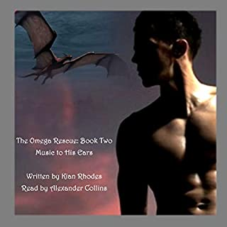 Music to His Ears: The Omega Rescue     The Omega Aution Chronicles, Book 6              By:                                                                                                                                 Kian Rhodes                               Narrated by:                                                                                                                                 Alexander Collins                      Length: 5 hrs and 49 mins     42 ratings     Overall 4.6
