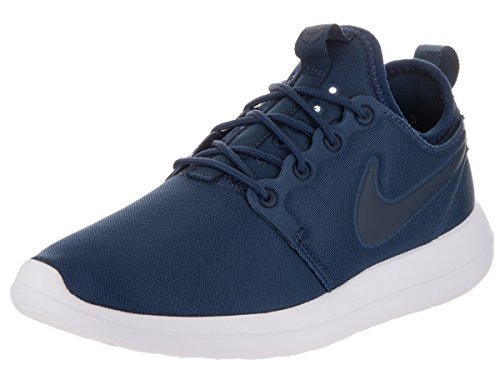 Nike Roshe Two, Zapatillas de deporte para mujer, color azul (Midnight Navy / Midnight Navy), 40 EU