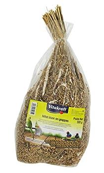 Vitakraft Millet en Grappe pour Oiseau Blanc 500 g