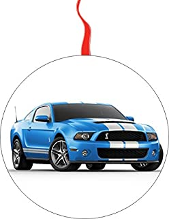 2013 Ford-Mustang-Shelby-Gt500 Christmas Tree Holiday Ornament Printed Double- 2 Sided Decoration Great Unisex
