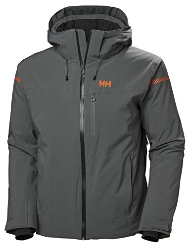 Helly Hansen Herren Swift 4.0 Isolierung Skijacke, Quiet Shade, 2XL