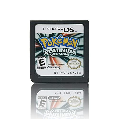 JPEEFER Cartucho de Juego para Nintendo DS Nintendo DS Pocket Monster Platinum Diamond Pearl Golden Soul Juego Tarjeta DS 2DS 3D S Tarjeta de Juego Nintendo 3DS Games Nintendo DS