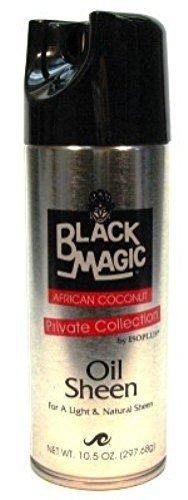 Black Magic Oil Sheen Coconut, 10.5 Ounce