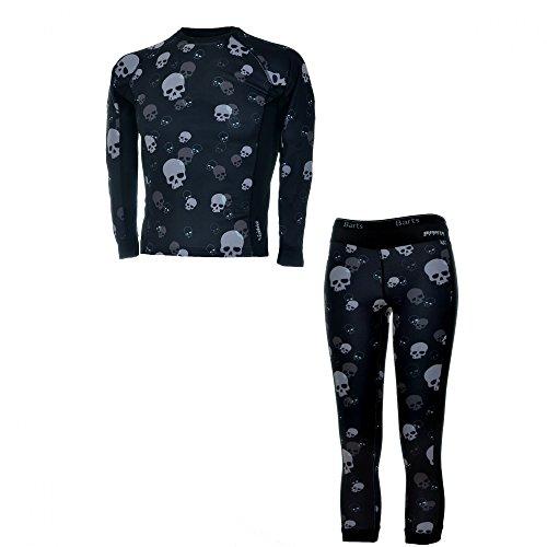 Barts skiondergoed Kids Set Underwear functioneel ondergoed Skull Black 07201391