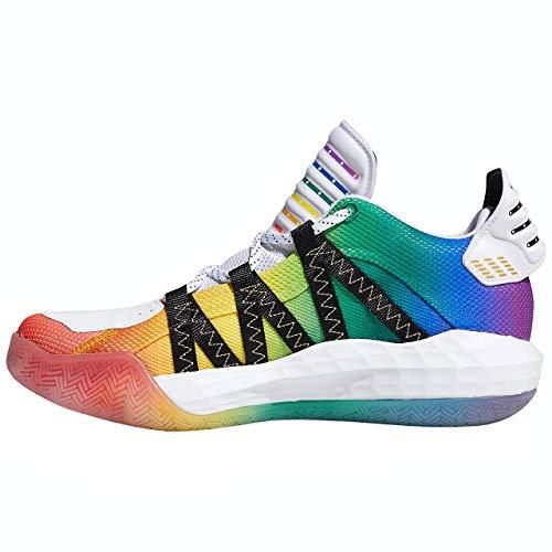 [アディダス(adidas)] Dame 6 GCA - Pride(フットウェアホワイト/コアブラック/ゴールドメタリック) FX4796 Fホワイト/Cブラック/ゴールドM 26.5cm