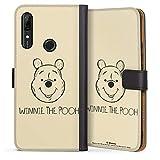 DeinDesign Étui Compatible avec Huawei P Smart Z Étui Folio Étui magnétique Ourse Winnie...