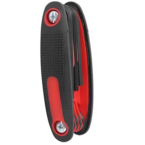 DAUERHAFT Llave de Arco compuesta Llave de Arco Liviana, para Flechas Equipo de Tiro con Arco de aleación General(Red)