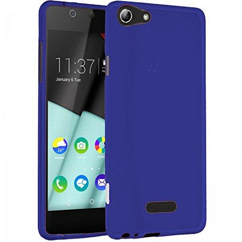 TBOC® Blau Gel TPU Hülle für Wiko Selfy 4G Ultradünn Flexibel Silikonhülle
