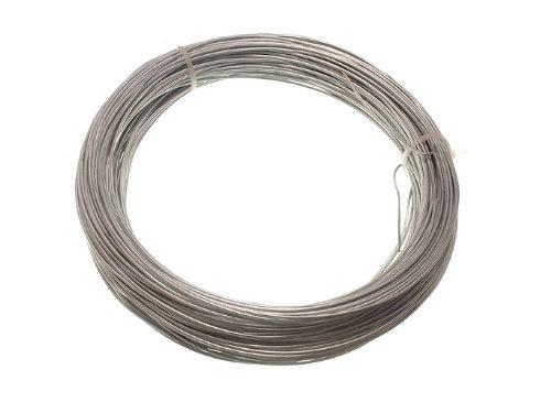 48 X Rolls Chaque 500g Poids galvanisé clôture de jardin fil 1.25 mm 50 mètres