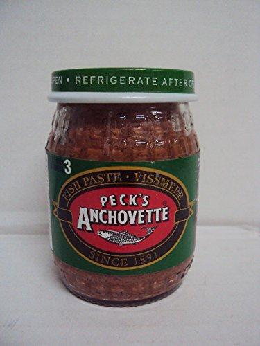 """Peck's Anchovette Fish Paste """"Vissmeer"""" 4.4oz/125g"""