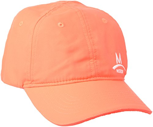 MISSION Performance Hat-Casquette-Homme-Orange-Orange Taille-OSFM