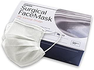 Wistech 3-Ply White Surgical Mask