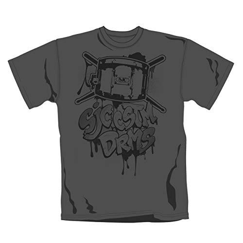 SJC DRUMS - GRAFFITI T-Shirt, Größe M