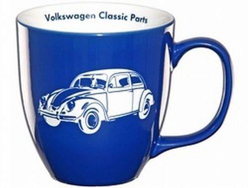 Volkswagen VW Käfer Tasse Kaffeebecher Becher blau