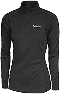 ThermaTech Womens Ultra Midlayer Long Sleeve 1/4 Zip