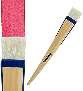 Creative Mark Mandalay Professional Goat Hair Hake Paintbrushes - Super Soft Hair for Holding Color for Large Surface Coverage - [Size - 1