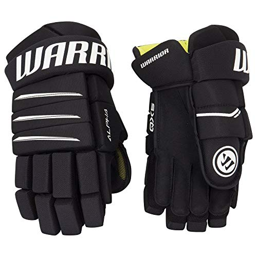 Warrior Alpha QX5 Handschuhe Youth(Bambini), Größe:9 Zoll;Farbe:schwarz