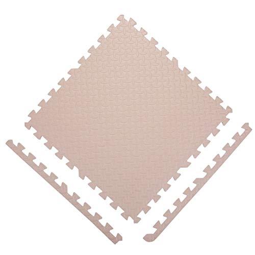 Guorrui puzzelmatten kruipmat PE kruipdeken milieuvriendelijk kind schuim tapijt huishouden splijten geurloos naadloze gaten, 10 kleuren, gratis combinatie
