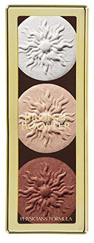 Physicians Formula Bronze Booster Highlight & Contour Palette, Shimmer Glow Palette, 0.3 Ounce