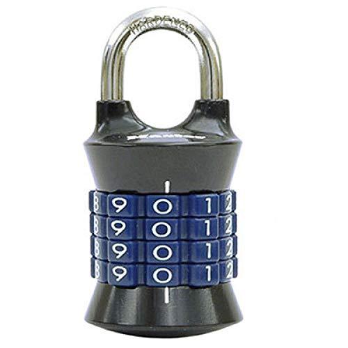 Slot Master Lock Digit combinatie wachtwoordlock zinklegering veiligheidsslot koffer bagage coded lock kast locker slot 1535 Black Blue