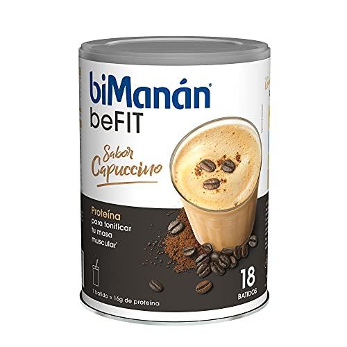 BiManán beFIT - Batido de Proteína Sabor Capuccino, para T
