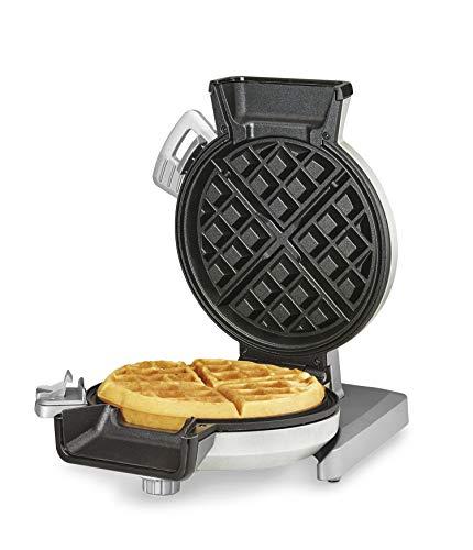 Cuisinart WAF-V100 Waffle Iron, Single, Silver