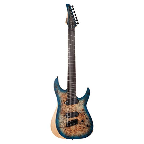 Schecter Reaper-7 Multiscale 7-String Electric Guitar (Satin Sky Burst)