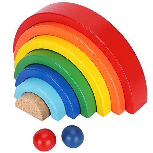 Jingyig Sistema del Bloque, Bloques de creación de Madera del ladrillo del Juguete de los Juguetes educativos, para los niños del niño