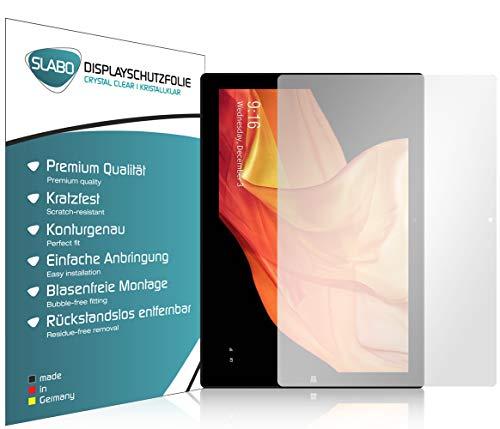 Slabo 2 x Pellicola Protettiva per Display per Chuwi UBook (11.6 ) Protezione Crystal Clear