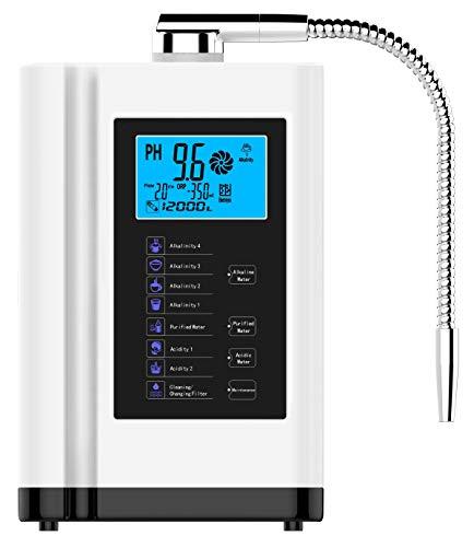 LCD Touch Control Ph 3,5-10.5 Ácido Alcalino Máquina 6000L Filtro De Agua...